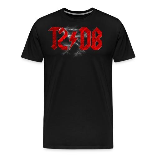 T2/DB AC/DC Style - Men's Premium T-Shirt