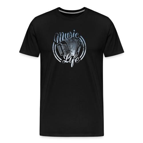MusicLife1 - Men's Premium T-Shirt