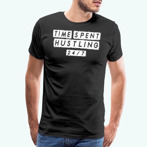 HUSTLE 247 - Men's Premium T-Shirt
