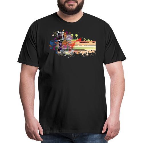 Funky Mic - Men's Premium T-Shirt