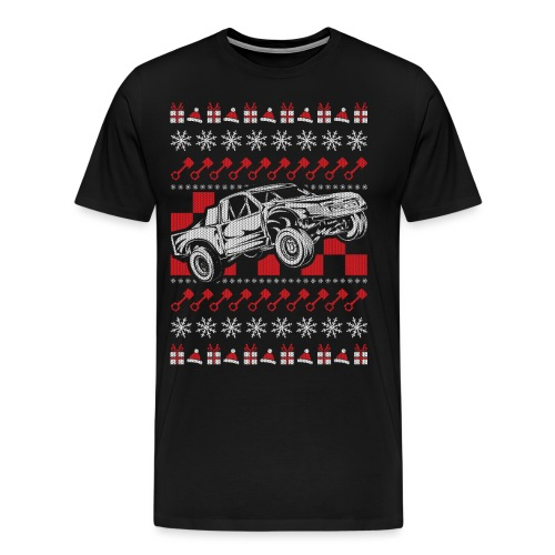 Pro Race Truck Christmas - Men's Premium T-Shirt
