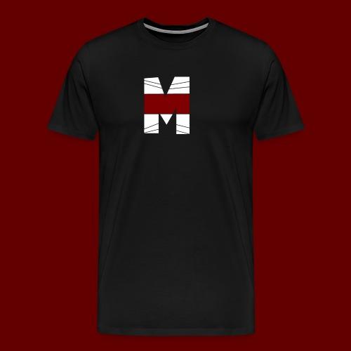 WHITE AND RED M Season 2 - Men's Premium T-Shirt