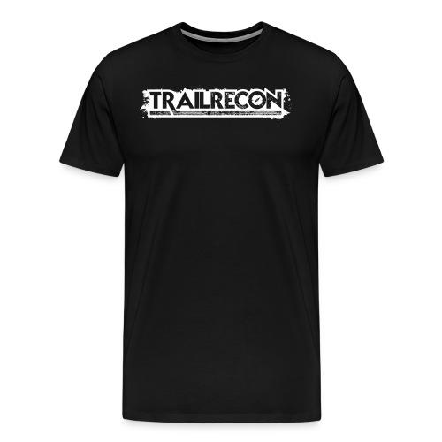TrailRecon White Trimmed - Men's Premium T-Shirt
