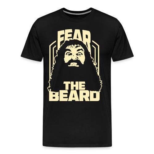 Fear The Beard - Men's Premium T-Shirt