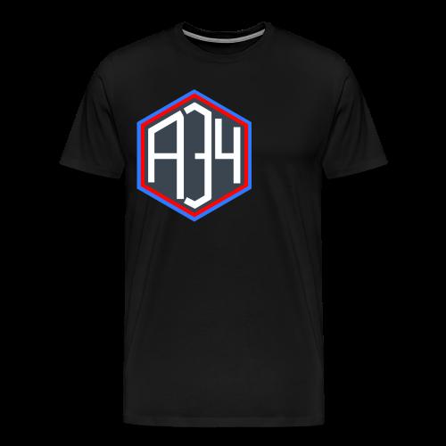 Adrian 34 LOGO - Men's Premium T-Shirt