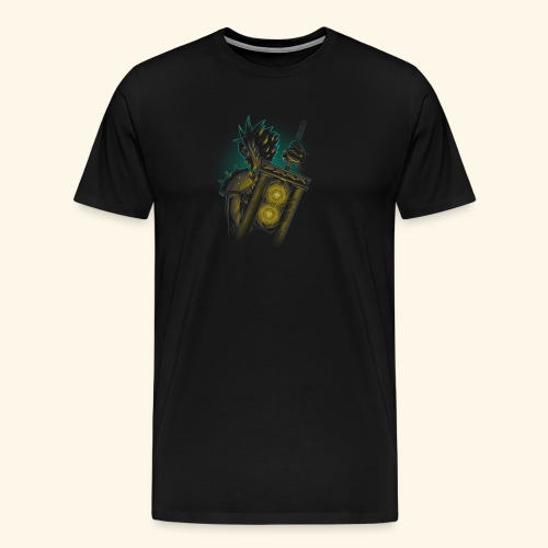DragonBall Saiya Shirt High Quality - Men's Premium T-Shirt