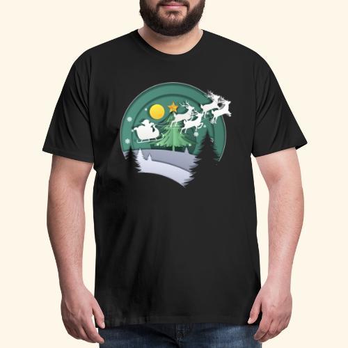 Christmas layer - Men's Premium T-Shirt