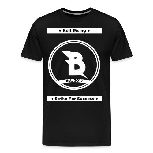 Strike For Success White - Men's Premium T-Shirt