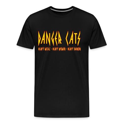 DangerCats - Men's Premium T-Shirt