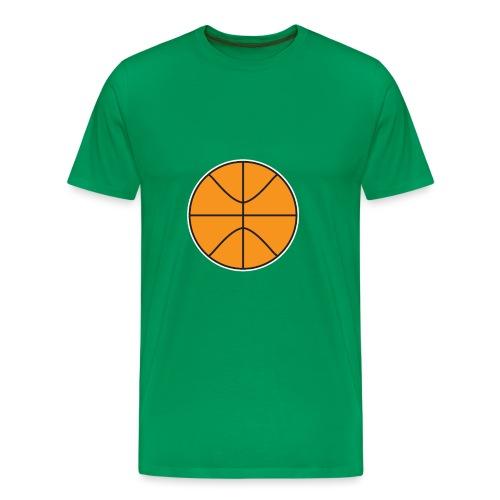 Plain basketball - Men's Premium T-Shirt