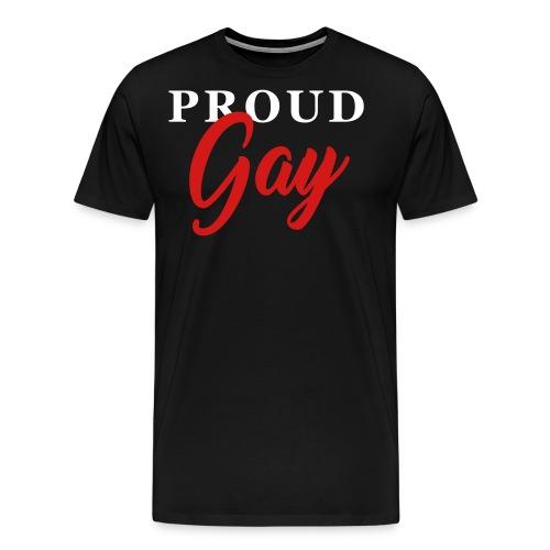 Proud Gay T-Shirt - Men's Premium T-Shirt