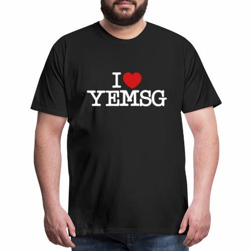 iheartyemsg - Men's Premium T-Shirt
