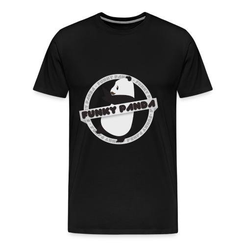 Funky Panda logo png - Men's Premium T-Shirt