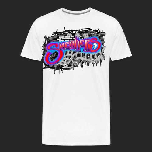 Sneakers Graffiti - Men's Premium T-Shirt