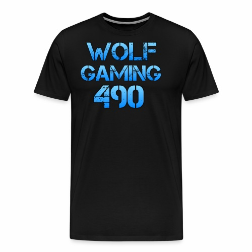 Wolfgaming490 Logo - Men's Premium T-Shirt