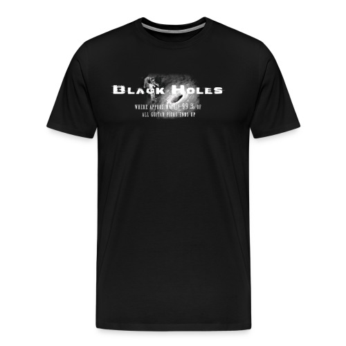 Black Holes & Guitar Picks - Men's Premium T-Shirt