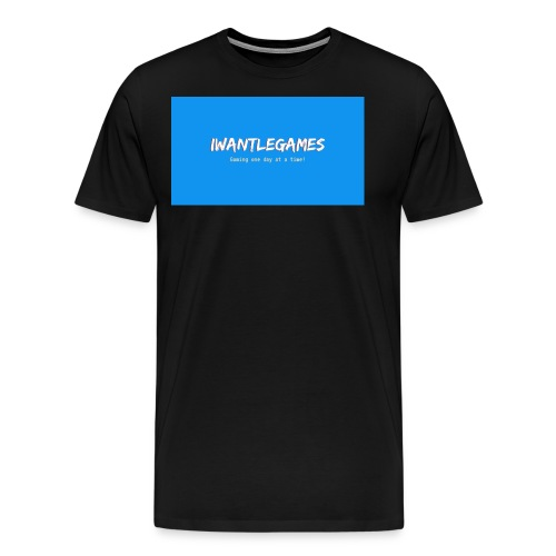 IWantLeGames - Men's Premium T-Shirt