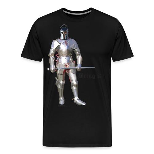Plate Armor Bring it men's standard T - Men's Premium T-Shirt