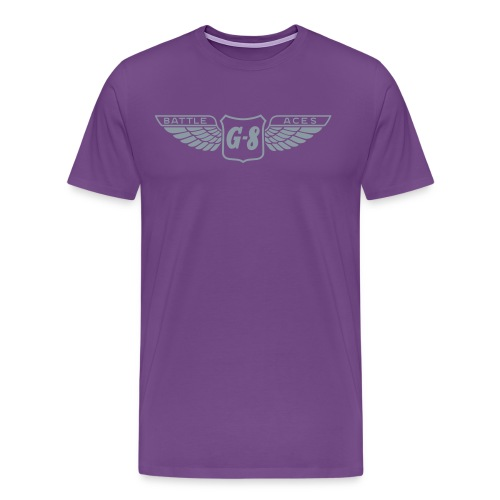 G 8 Wings 1 color - Men's Premium T-Shirt