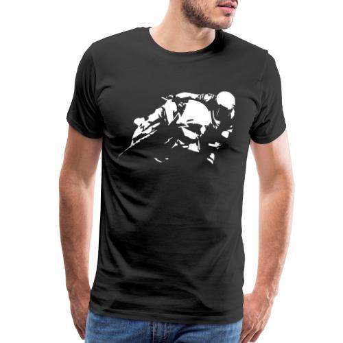 Sportbike Racing Motorcycle - Men's Premium T-Shirt
