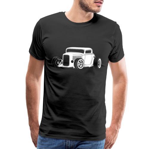 Classic American Hot Rod - Men's Premium T-Shirt