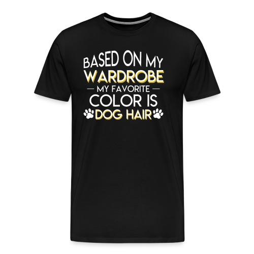 Dog Owner Favorite Color Is Dog Hair - Men's Premium T-Shirt