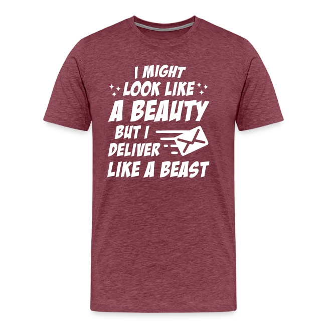 Postal Worker Beauty Deliver Like Beast