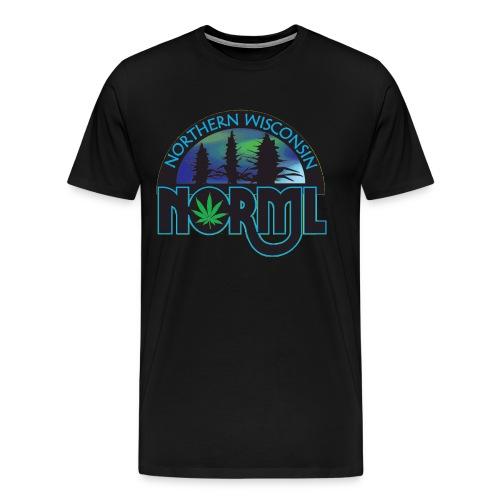 Northern Wisconsin NORML Official Logo - Men's Premium T-Shirt