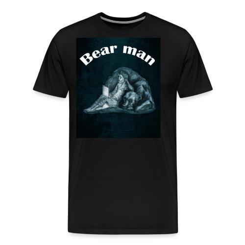 bear man - Men's Premium T-Shirt
