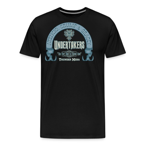 Atencio, Crump & Gracey - Undertakers - Men's Premium T-Shirt