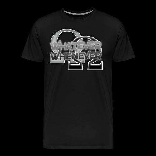 RalDal: Whatever Whenever Print - Men's Premium T-Shirt