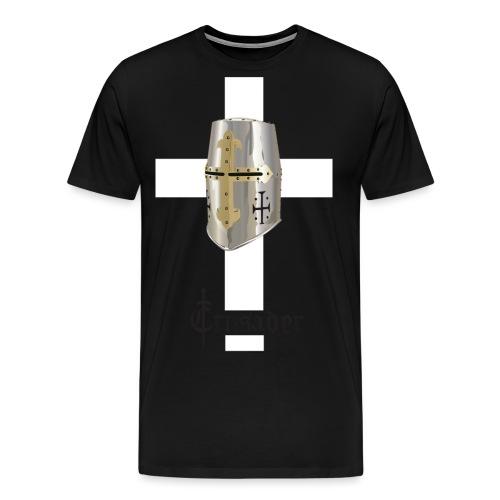 crusader_white - Men's Premium T-Shirt