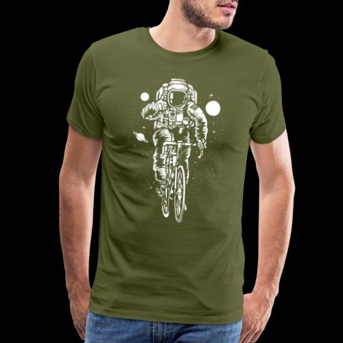 Space Cyclist - Men's Premium T-Shirt
