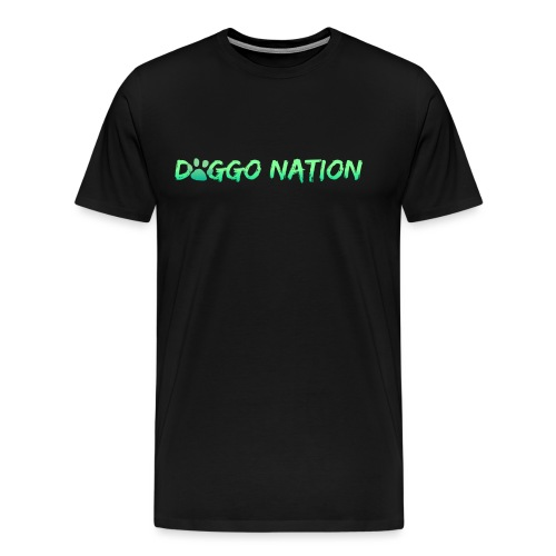 DoggoNation Logo - Men's Premium T-Shirt