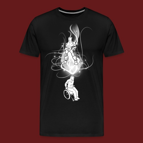 TransforMax (white) - Men's Premium T-Shirt