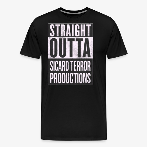 Strait Out Of Sicard Terror Productions - Men's Premium T-Shirt