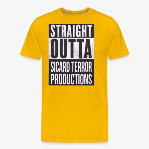 Strait Out Of Sicard Terror Productions - Men's Premium T-Shirt