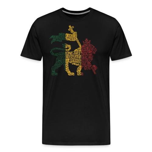 One Love Lion Tee - Men's Premium T-Shirt