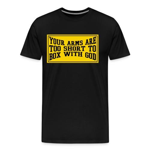 BOX WITH GOD - Men's Premium T-Shirt