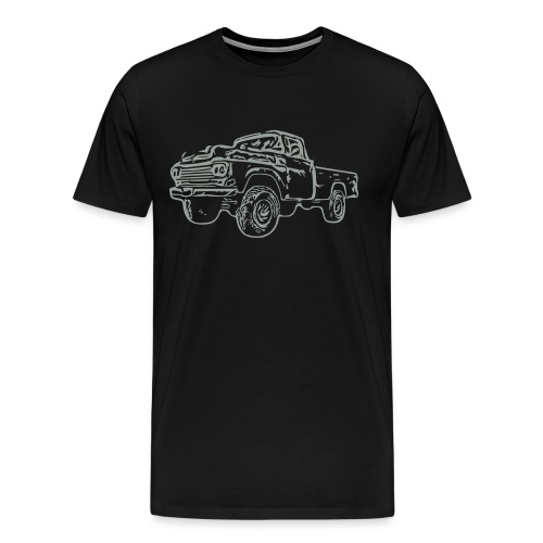 gnarlyTruck - Men's Premium T-Shirt
