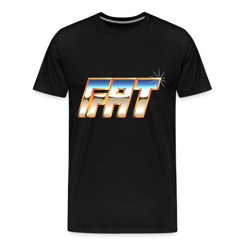 fatwwflogo3 - Men's Premium T-Shirt