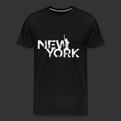 New York (Flexi Print) - Men's Premium T-Shirt