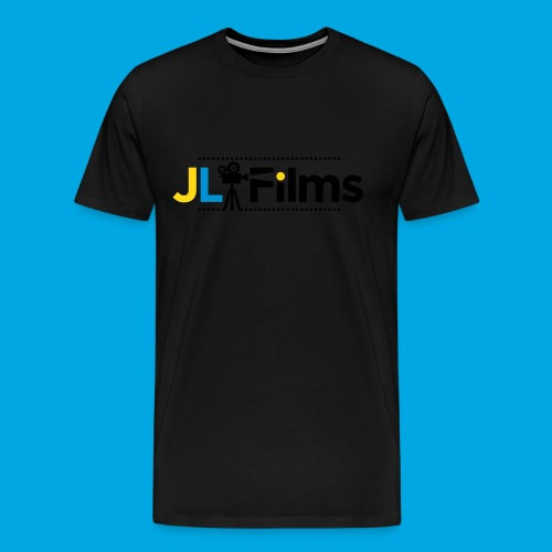 JL Films Logo Black - Men's Premium T-Shirt
