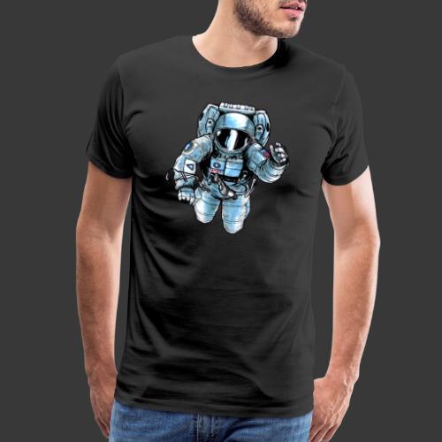Astronaut in space - Men's Premium T-Shirt