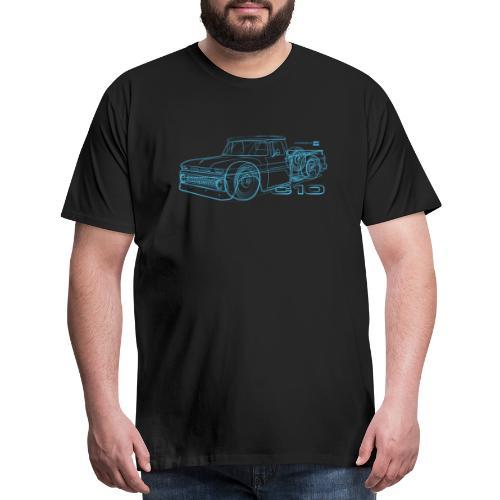 C10Blueline - Men's Premium T-Shirt