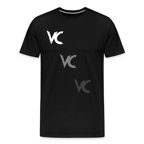 V3L0C1TY Logo Mugs & Drinkware - Men's Premium T-Shirt