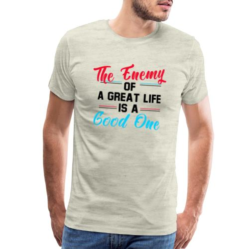 Enemy of Life - Men's Premium T-Shirt