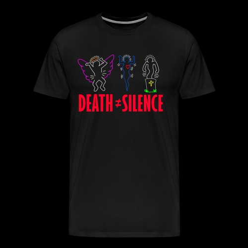 Death Does Not Equal Silence - Men's Premium T-Shirt