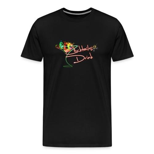 cocktailsdrink shirt - Men's Premium T-Shirt