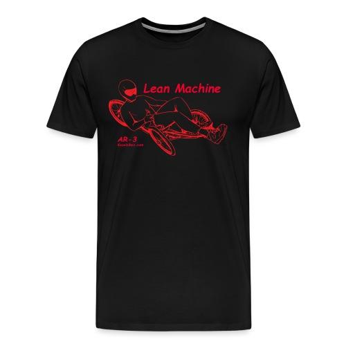 Lean Machine AR-3 all Red Logo Shirt - Men's Premium T-Shirt